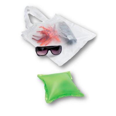 Sacola almofada inflável em PVC opaco
