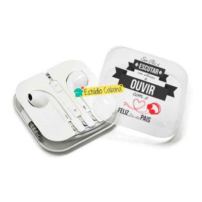 Kit Ouvir com o Coração Mini Personalizado