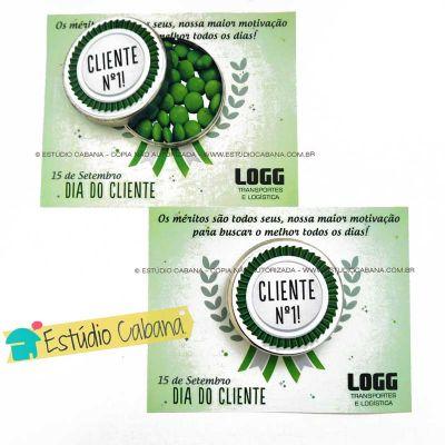 Estudio Cabana - Medalha cartão cliente
