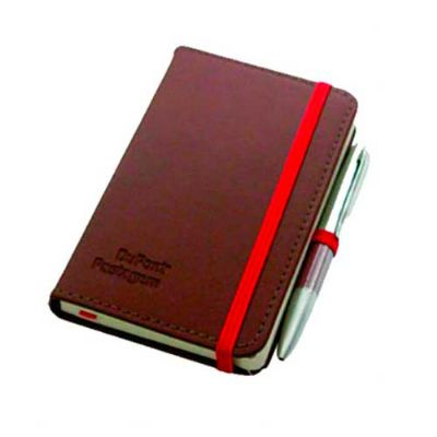 kmp-presentes-promocionais - Caderneta com capa de couro