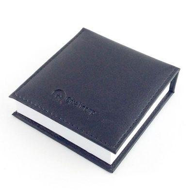 kmp-presentes-promocionais - Bloco de anotações - Capa de couro