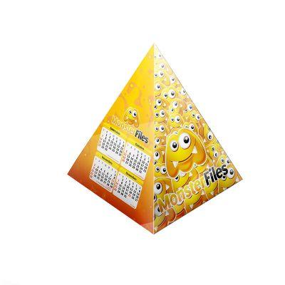 kmp-presentes-promocionais - Calendário pirâmide 16 x 29,4 cm