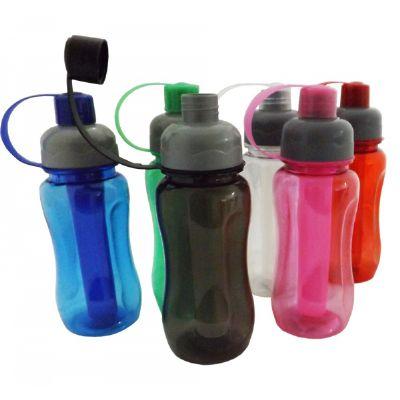 kmp-presentes-promocionais - Squeeze de plástico resistente de 400 ml