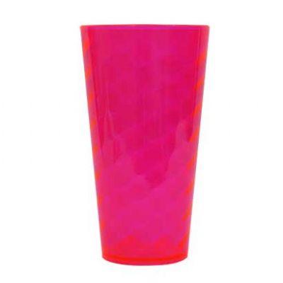 Shopping Brindes - Copo flex em PS 600ml.  Tamanho : 8,7 x 16cm