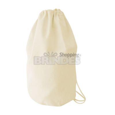 Shopping Brindes - Mochila marinheiro em lona 100% algodão