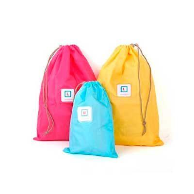 Midnight Embalagens - Saco mochila de TNT