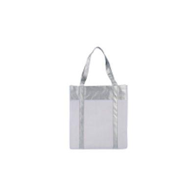 Midnight Embalagens - Sacola de tnt metalizado na medida de 30x40 cm com alça do proprio material