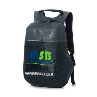 msb-brindes-personalizados - Mochila anti-furto