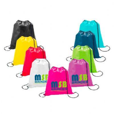 MSB Brindes personalizados - Mochila saco