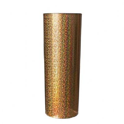 Feast Cup - Copo holográfico Long Drink personalizado ou liso dourado com interior em cores diversas - 350ml