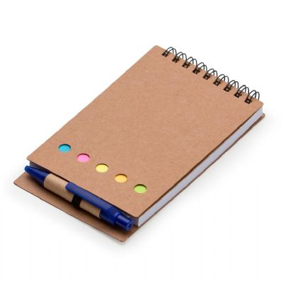 mil-bolsas-e-brindes - Bloco de anotações com caneta