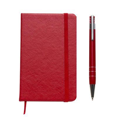 Mil Bolsas & Brindes - Caderno moleskine com caneta