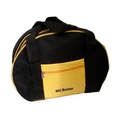 Mil Bolsas & Brindes - Bolsa esportiva amarela