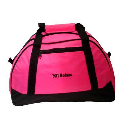 Mil Bolsas & Brindes - Bolsa esportiva rosa