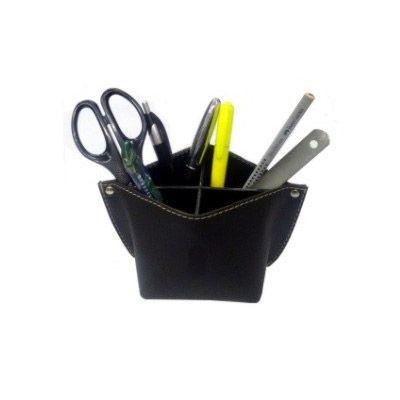 Leve Couro - Porta canetas, porta lápis e porta treco confeccionado em couro ou sintético.
