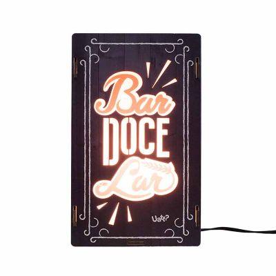Luminária - Bar doce lar