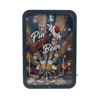 Quadro de tampinha Fliperama - Pinbeer