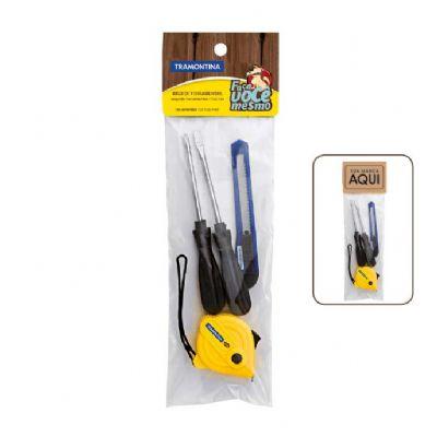 Kit de ferramentas Tramontina 4 peças