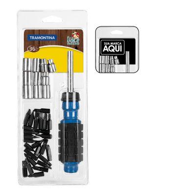 Kit de ferramentas com 36 peças
