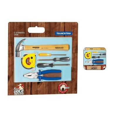 tramontina - Kit de ferramentas 6 peças
