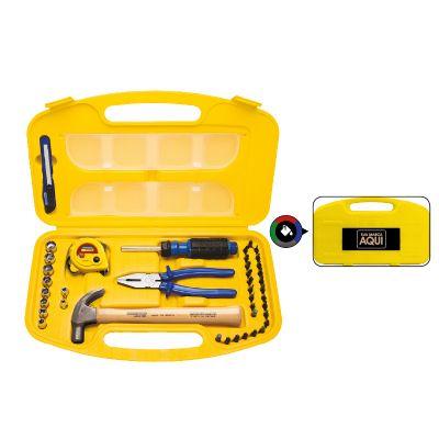 Maleta de ferramentas com 41 peças