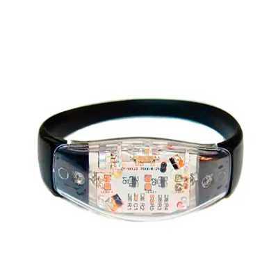 Pulseira Musical LED Personalizada