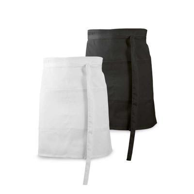 Lira Brindes - Avental chef em material algodão e poliéster. Possui2 bolsos.   Tamanho Total Aproximado  90 x 48 cm  Peso Total Aproximado  Informação Indisponível