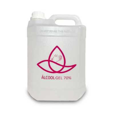 Álcool Gel 70% Personalizado - 1 Litro