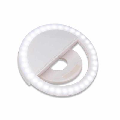 Anel de Iluminação Personalizado Selfie Ring - Recarregável
