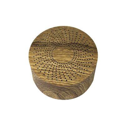 Lira Brindes - Caixa de som madeira