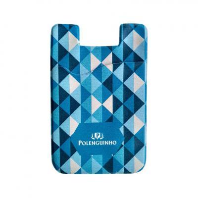 Lira Brindes - Porta cartão smartphone em PVC