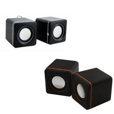 lira-brindes - Caixa de som Bluetooth cubo