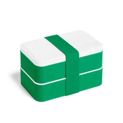 lira-brindes - Marmita em material plástico polipropeno e poliestileno. Possui 2 compartimentos de 680 ml cada e 1 divisória removível. Acompanham 3 talheres, sendo...