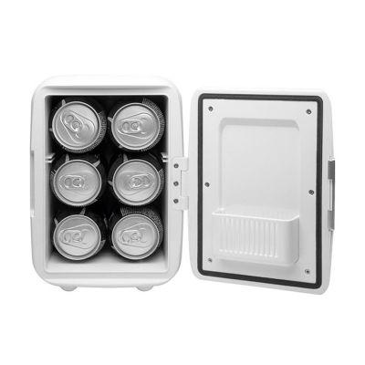 Lira Brindes - Mini geladeira plástica portátil com função quente e frio! Refrigeração para incríveis 05 graus, e também aquecimento de 50/65 graus! Possui: Alça par...