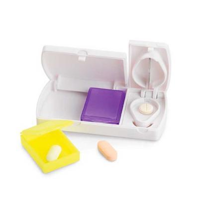 Porta Comprimidos Personalizado Com Divisor