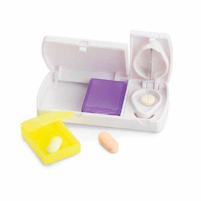lira-brindes - Porta comprimidos com diviso