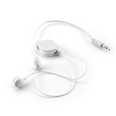 Lira Brindes - Fone de ouvido com cabo ajustável. Acompanha bolsa feita em material TNT.