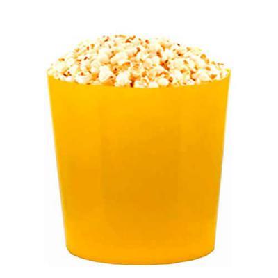Balde de Pipocas com 3 Litros Amarelo