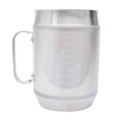 Canecas de chopp de alumínio simples 700 ml sem gravações
