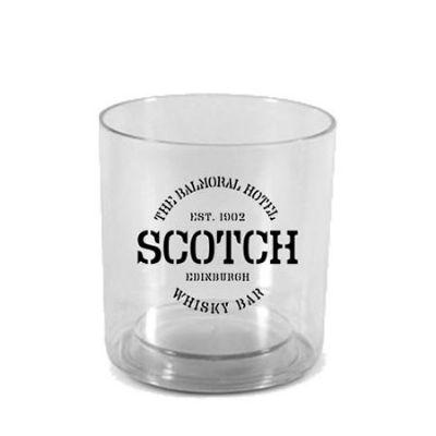 O Mundo das canecas - Copo acrílico (PS) para Whisky 300 ml cores diversas personalizado