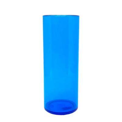O Mundo das canecas - Long Drink Acrílico Azul de 350ml