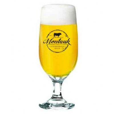 Taças Barcelona para cerveja em vidro cristal 300 ml Personalizadas - O Mundo das canecas