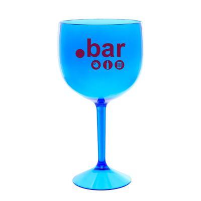 Taça de Gin 570ml em Acrílico Azul