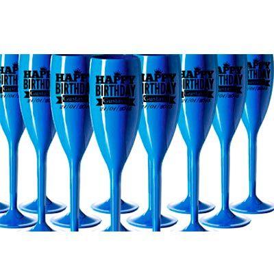 mundo-das-canecas - Taça personalizada de acrílico cristal (PS cristal) 160 ml com sua arte