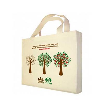 Power Camisetas e Brindes - Ecobag personalizada com a logomarca impressa de empresas.