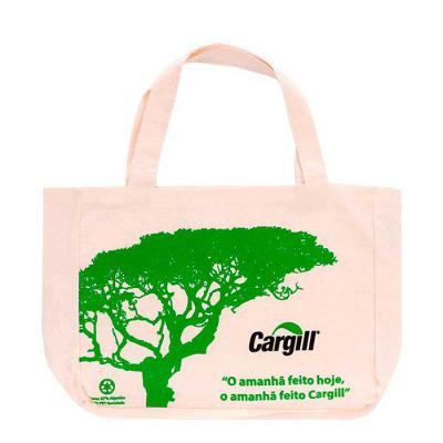 power-camisetas-e-brindes - Ecobag personalizada com a logomarca impressa de empresas.