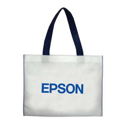 power-camisetas-e-brindes - Sacola em TNT Personalizada com a logomarca impressa de empresas.