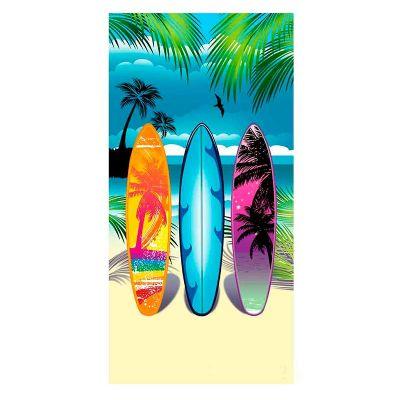 power-camisetas-e-brindes - Toalha de Praia personalizada