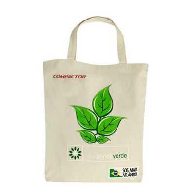 power-camisetas-e-brindes - Ecobag em 100% Algodão Cru
