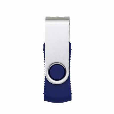 Arena Brindes - Pen drive personalizado rm giratório metal 8gb